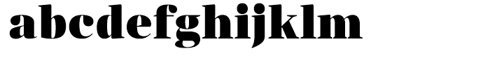 Anglecia Pro Display Black Font LOWERCASE