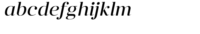 Anglecia Pro Display Italic Font LOWERCASE