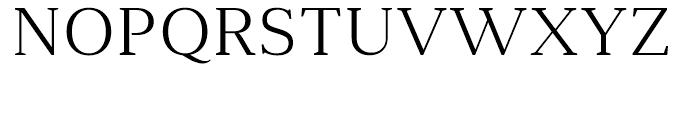 Anglecia Pro Text Light Font UPPERCASE