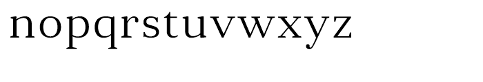 Anglecia Pro Text Light Font LOWERCASE