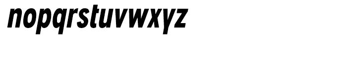 Angostura Black Italic Font LOWERCASE
