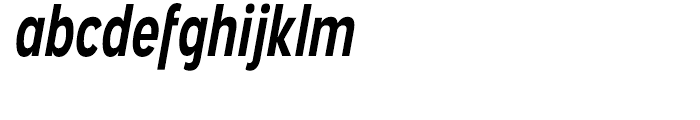 Angostura Bold Italic Font LOWERCASE