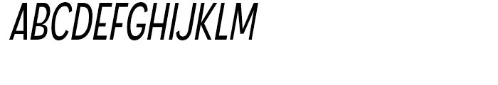Angostura Book Italic Font UPPERCASE