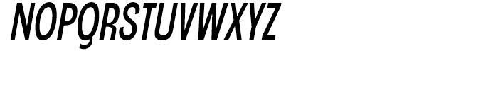 Angostura Regular Italic Font UPPERCASE