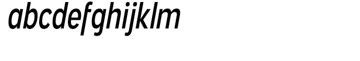 Angostura Regular Italic Font LOWERCASE