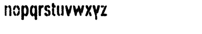 Angostura Spraypaint Font LOWERCASE