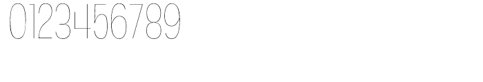Angostura Ultralight Font OTHER CHARS