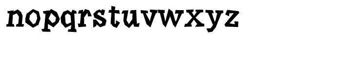 Angulatte Medium Font LOWERCASE
