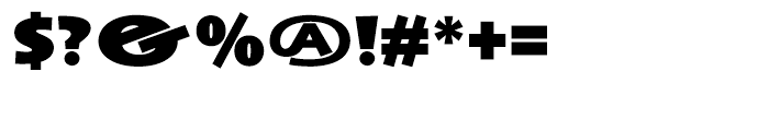 Anisette Black Font OTHER CHARS