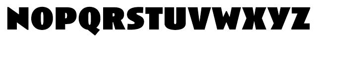 Anisette Black Font LOWERCASE