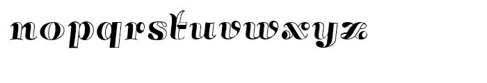 Annabelle Matinee NF Regular Font LOWERCASE