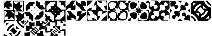 Anns Basketweave Five Font UPPERCASE