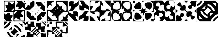 Anns Basketweave Five Font LOWERCASE