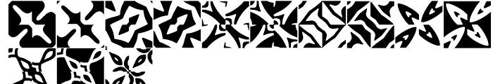 Anns Basketweave Four Font UPPERCASE