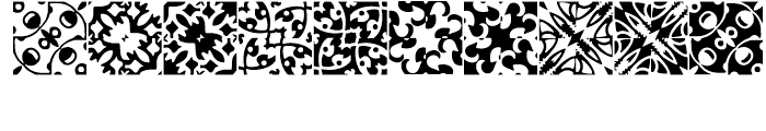 Anns Basketweave Seven Font OTHER CHARS