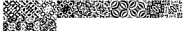 Anns Basketweave Seven Font UPPERCASE