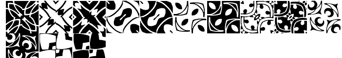 Anns Basketweave Two Font LOWERCASE