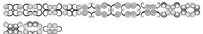 Anns Butterfly Scrolls Six Font LOWERCASE