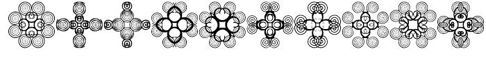 Anns Cross Scrolls Seven Font OTHER CHARS