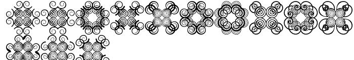 Anns Cross Scrolls Two Font UPPERCASE
