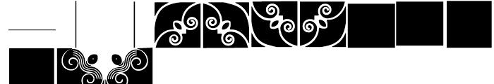 Anns Framemaker Three Font UPPERCASE