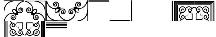 Anns Framemaker Three Font LOWERCASE