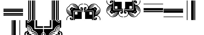 Anns Framemaker Two Font UPPERCASE
