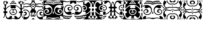 Anns Gothic Frieze Five Font OTHER CHARS
