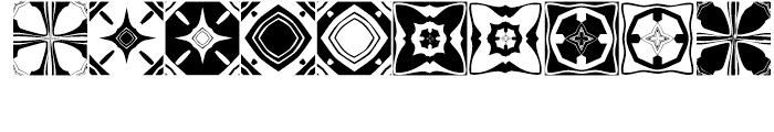 Anns Kaleidoblocks Four Font OTHER CHARS