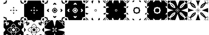 Anns Kaleidoblocks Four Font UPPERCASE