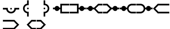 Anns Module Five Font UPPERCASE