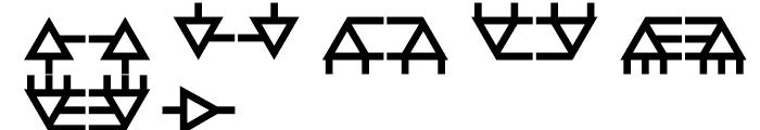Anns Module Three Font UPPERCASE