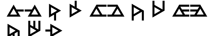 Anns Module Three Font LOWERCASE