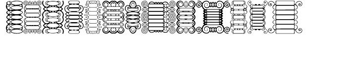 Anns Scrollbars Regular Font LOWERCASE