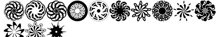 Anns SpEYErals Revolution Nine Font UPPERCASE