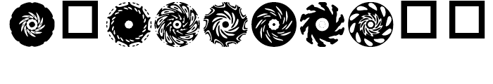 Anns Spinwheels Four Font OTHER CHARS