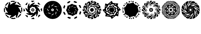Anns Spinwheels Three Font OTHER CHARS