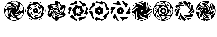 Anns Spinwheels Two Font OTHER CHARS
