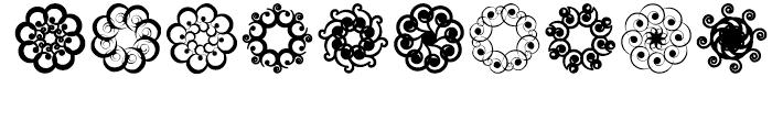 Anns Spirals Octopies Font OTHER CHARS