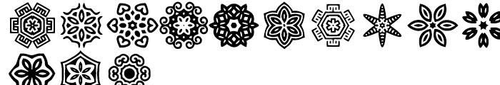 Anns Stellars One Font LOWERCASE