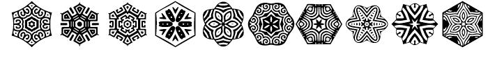 Anns Stellars Three Font OTHER CHARS