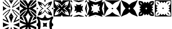 Anns Woodblocks Three Font LOWERCASE