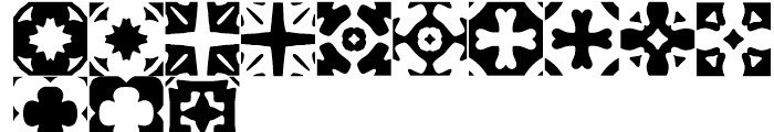 Anns Woodblocks Two Font LOWERCASE