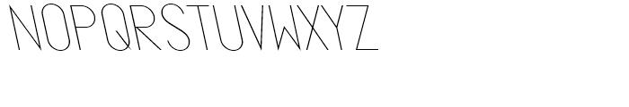 Ano Quarter Wide Back Italic Font LOWERCASE