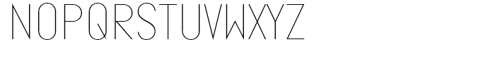 Ano Quarter Wide Font LOWERCASE