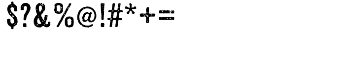 Anodyne Regular Font OTHER CHARS