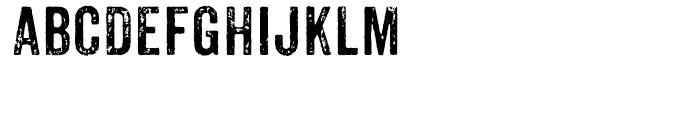Anodyne Regular Font UPPERCASE