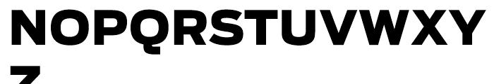 Antenna Black Font UPPERCASE