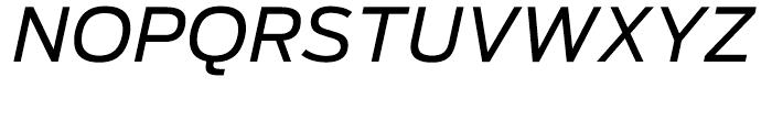 Antenna Regular Italic Font UPPERCASE