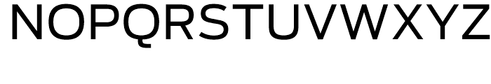 Antenna Regular Font UPPERCASE